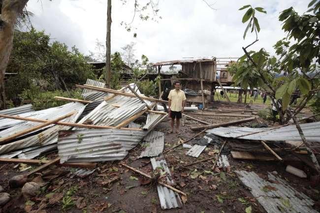 GORESAM entrega ayuda humanitaria a damnificados de Bello Horizonte en Pachiza