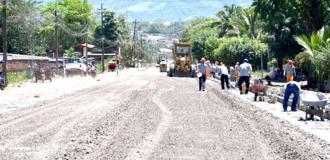 En Moyobamba, Provias Descentralizado realizó control de ejecución de la obra ciclovía