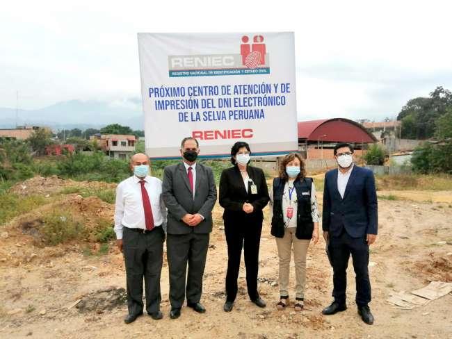 Región San Martín contará con planta de impresión de dni electrónico para el oriente peruano