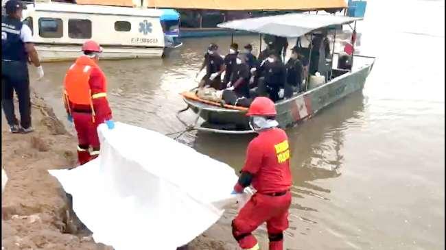 Fiscalía de Alto Amazonas, investiga trágico  accidente fluvial en Yurimaguas