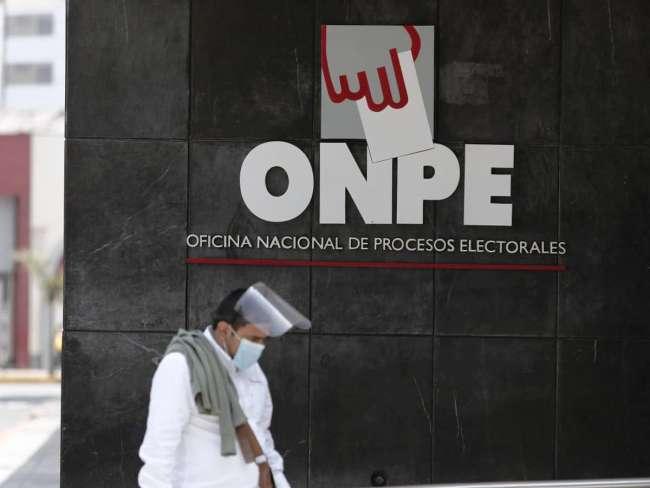 ONPE: ocho partidos aún no entregan información de financiamiento de campaña