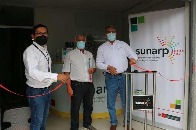 Sunarp inauguró Sala SACS en las oficinas registrales de Moyobamba y Tarapoto