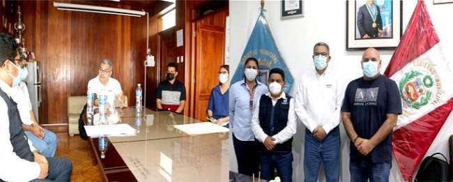 Sunarp Moyobamba sostuvo reunión de trabajo sobre SID Municipalidades