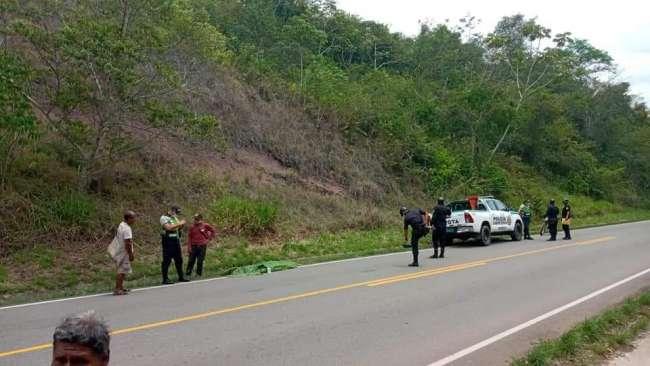 Mujer muere arrollada por automóvil en el distrito de Tabalosos