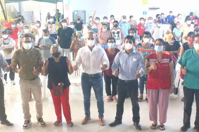 Reinician actividades en la Casa del Adulto Mayor de Tarapoto