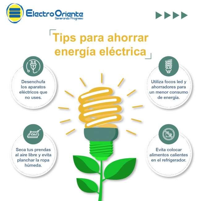 """""""Hagamos un mejor y eficiente uso de la energía en el hogar, oficina y local comercial y evitemos el incremento del consumo mensual"""""""