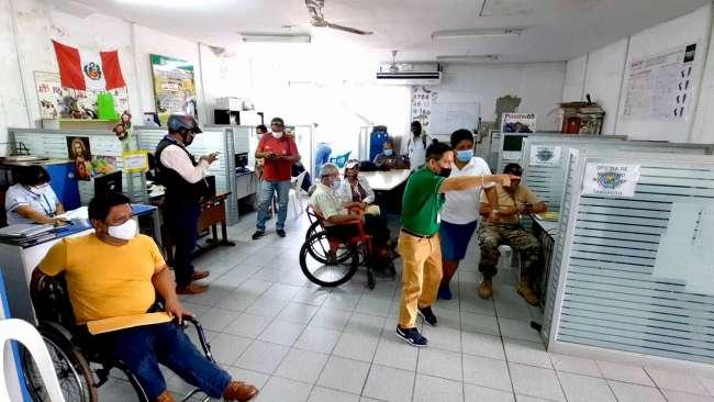 Personas con discapacidad son calificadas para recibir pensión del Programa Juntos