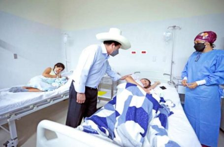 Presidente Castillo en Caspizapa: el país se cambia trabajando, estando con la población, no con tuit.
