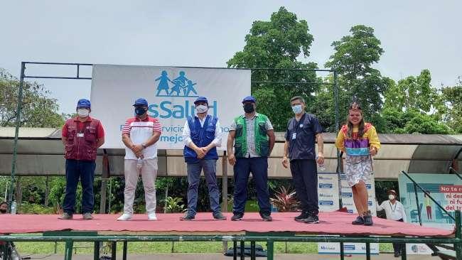 EsSalud Tarapoto realizó Feria de Alimentación Saludable en beneficio de la ciudadanía