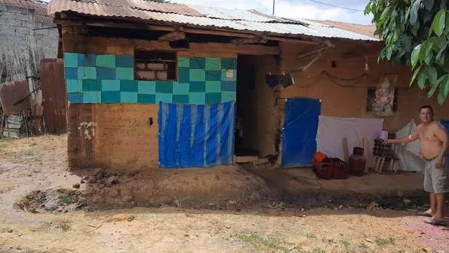Incendio provocado por corto circuito deja daños materiales en asociación de vivienda El Porvenir