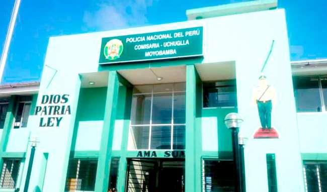 En Moyobamba: delincuentes asaltan y hieren a policía