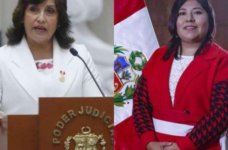 Defensoría exhorta a Perú Libre a evitar el acoso político hacia Dina Boluarte y Betssy Chávez