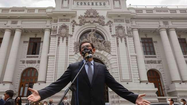 Declaran infundado pedido para que el JNE entregue a Martín Vizcarra sus credenciales como congresista