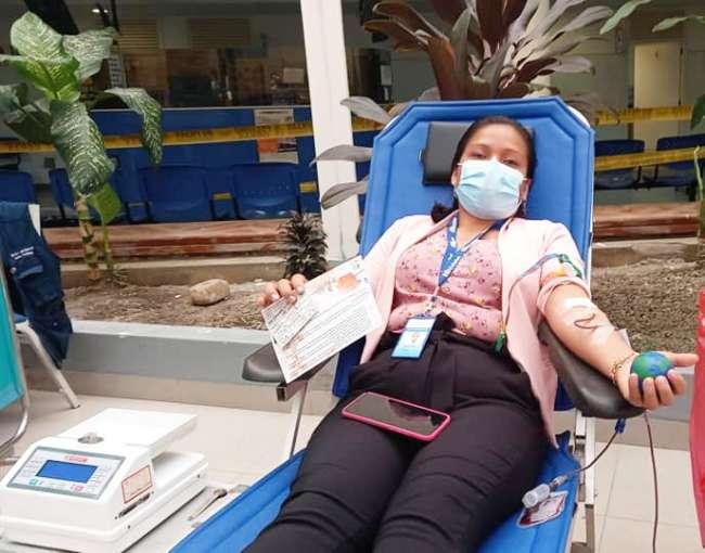 EsSalud Tarapoto realiza II Campaña de Donación de Sangre