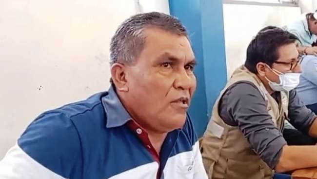 Alcalde distrital de Santa Cruz emplaza a funcionarios de Agua Rural