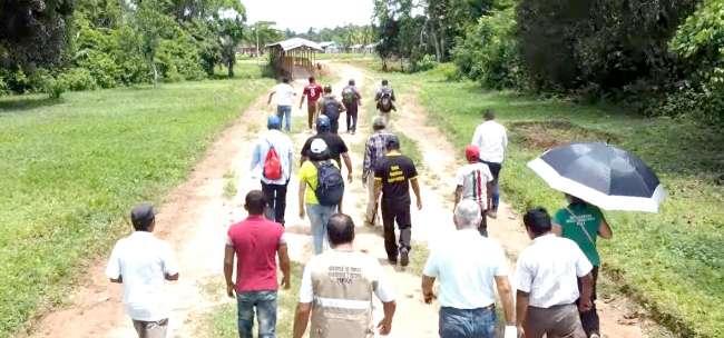 Más de cien kilómetros de trochas carrozables serán mejoradas en el Valle del Paranapura