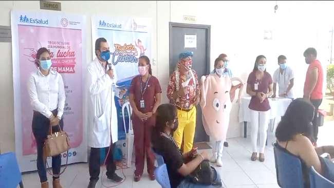 En vacunatorio, también realizarán tamizaje de cáncer de cuello uterino