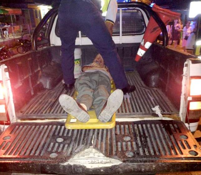 Anciano embestido por trimóvil fallece mientras era atendido en Hospital II – 2 de Tarapoto