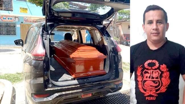 Joven supervisor muere en accidente de tránsito en la carretera F.B.T.