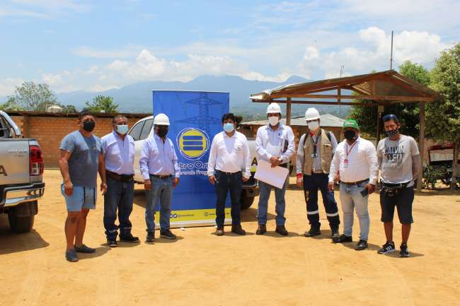 Más de mil familias se beneficiarán con ampliación de red eléctrica en sectores de Morales y Banda de Shilcayo