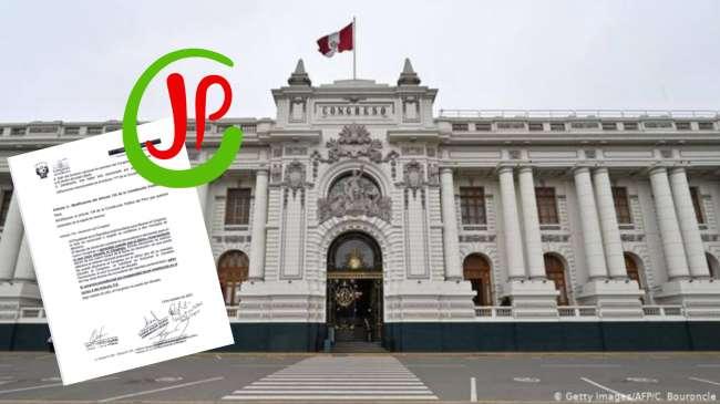 Juntos por el Perú presenta proyecto de ley para disolver el Congreso si el presidente es vacado