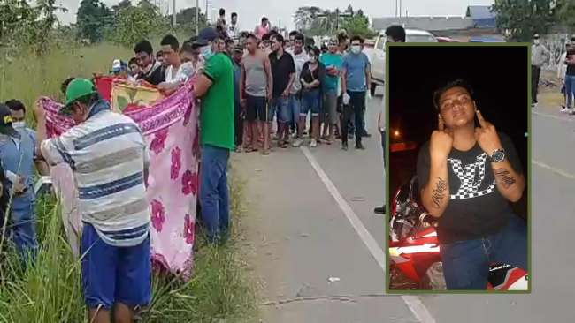 Joven de 18 años es encontrado sin vida en carretera
