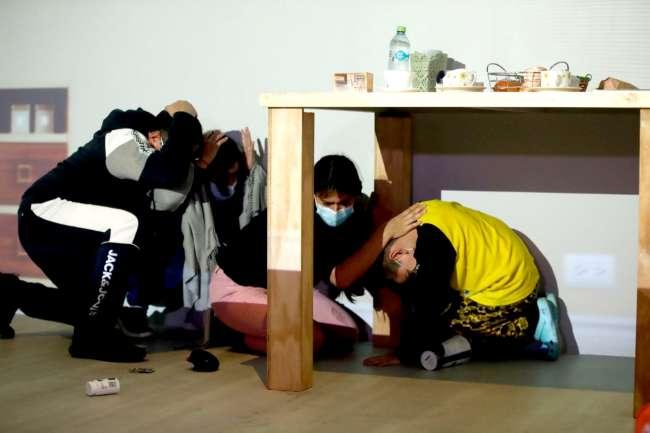 Hoy 13, participa del simulacro de sismo familiar multipeligro