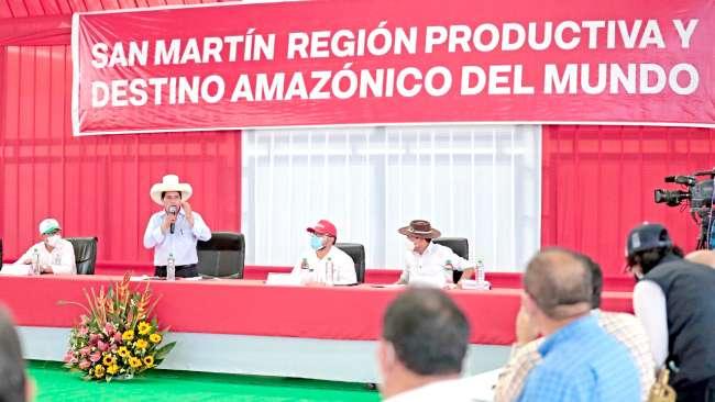 "Pedro Castillo a alcaldes y congresistas: ""Sentémonos a conversar pensando en la población"""