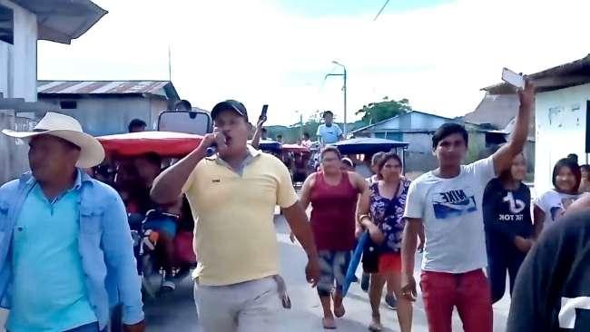 Pobladores de Yarina anuncian bloqueo de carretera Tarapoto – Yurimaguas
