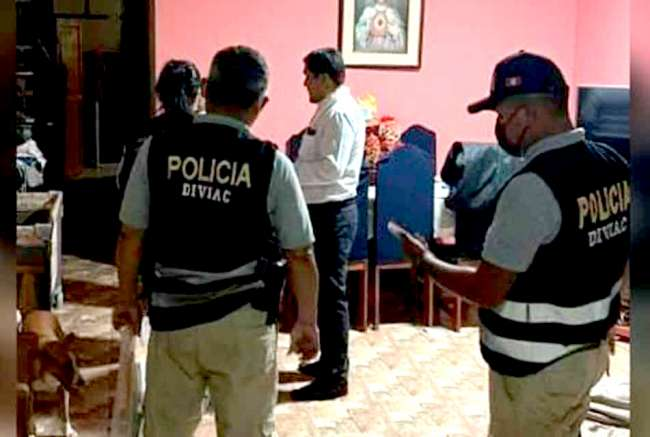 Fiscalía allana vivienda y oficinas del gobernador de Madre de Dios Luis Hidalgo Okimura