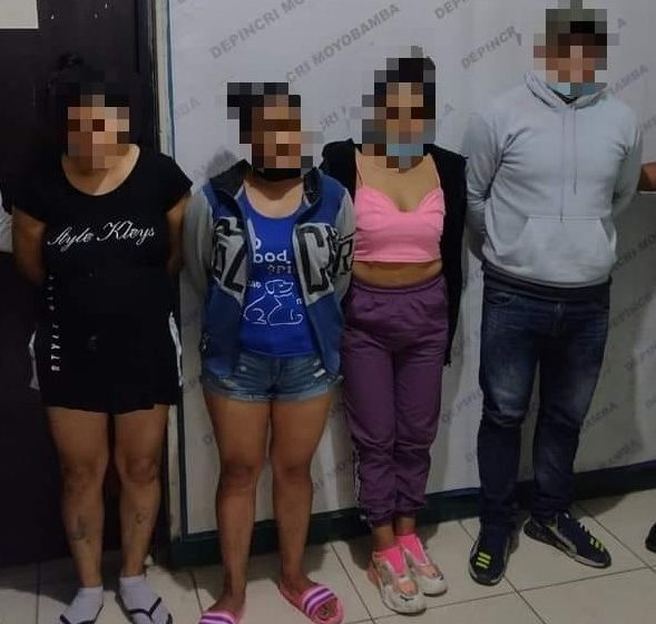 En Soritor: Nueve meses de prisión preventiva para dos hermanas acusadas de explotación sexual a menores de edad.