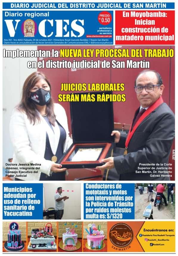 Diario Digital, sábado 09 de octubre 2021