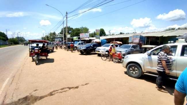 Pasajeros que viajan de Tarapoto a Yurimaguas y viceversa hacen transbordo