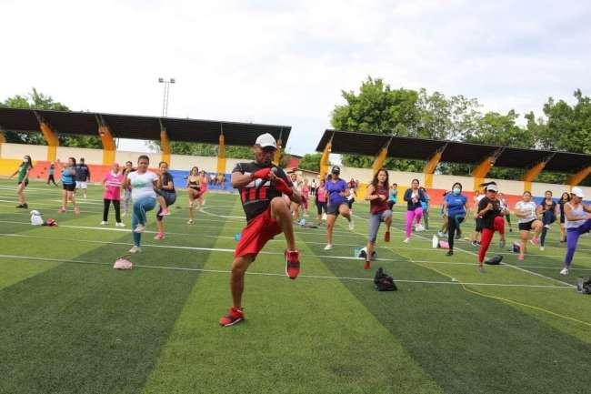 MPSM activa jornada saludable todos los domingos en Chacarita Versalles