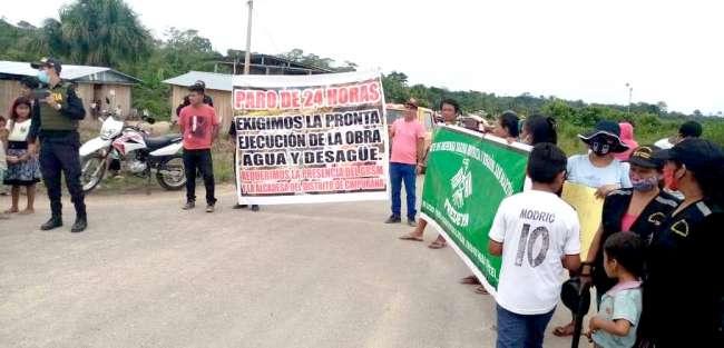 HUELGAS Y MOVILIZACIONES  EN EL NORTE, CENTRO Y SUR  DE SAN MARTÍN