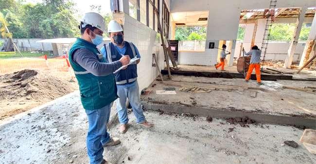 En Moyobamba: Inician construcción de matadero municipal