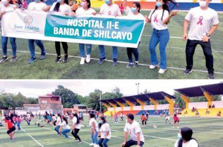 OGESS Bajo Mayo y sus establecimientos se hicieron presentes en Baileton